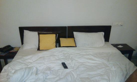 Bed Picture Of Oyo 1159 Hotel Chandra Prakash Udaipur