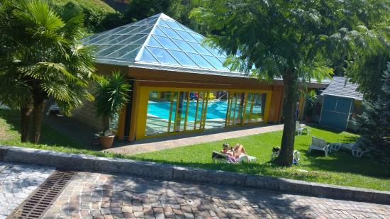 zona piscina  Picture of Grand Hotel Gortani Arta Terme