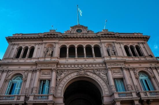 Interior da Casa Rosada  Picture of La Casa Rosada  Palacio de Gobierno Buenos Aires