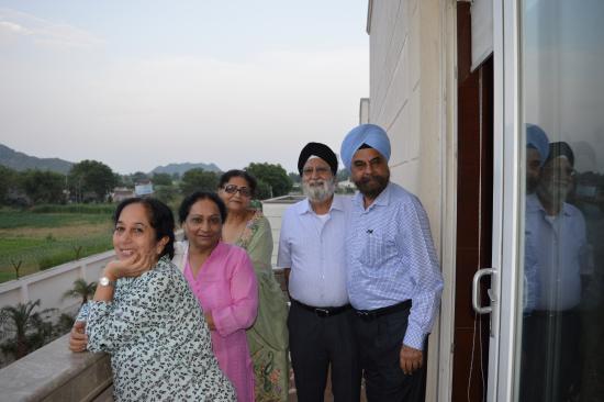 Balcony Picture Of Grand Hira Resorts Neemrana Tripadvisor