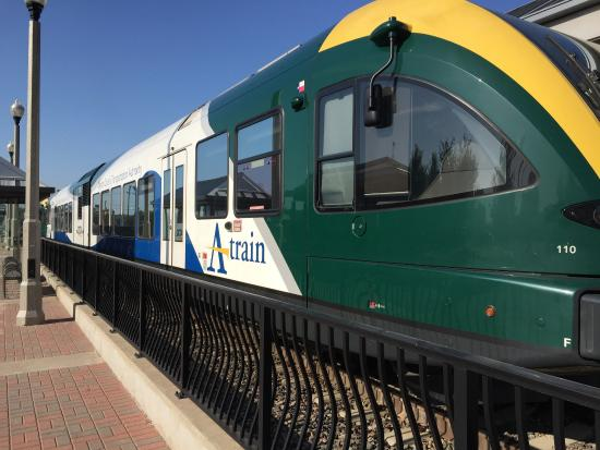 commuter train review of