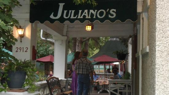 awning going to the
