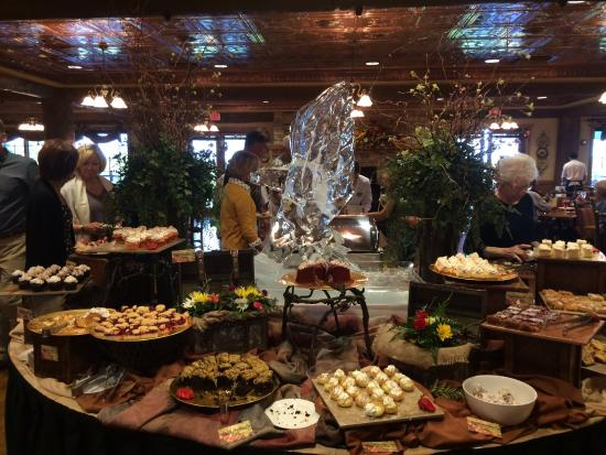 Dessert table  Picture of Dobyns Dining Room Point