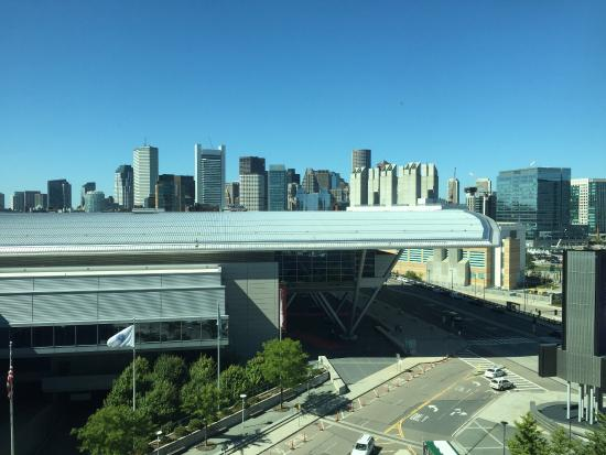 View of Convention Center from Bridge  Picture of The