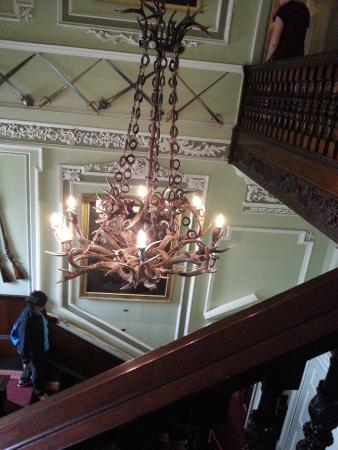 Blair Castle And Hercules Gardens Stag Horn Chandelier