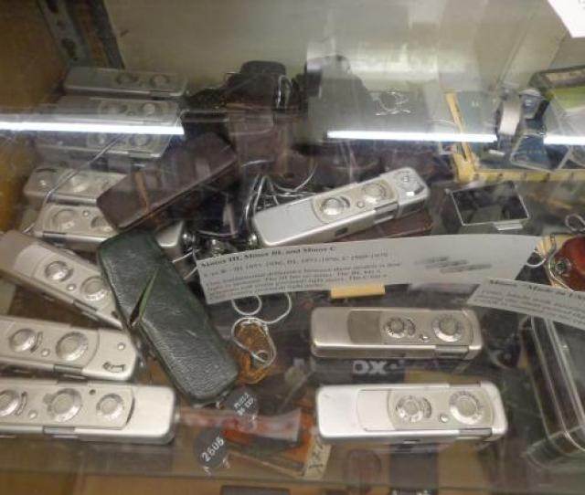 Camera Heritage Museum Spy Cameras Used In One Of The James Bond Movies
