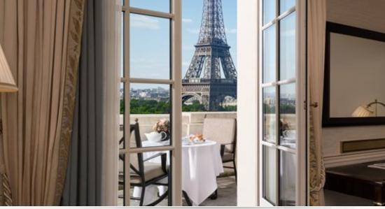 Terrace Eiffel Tower View Room Looks A Lot Nicer On The