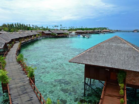 Sipadan Water Village Resort Mabul Island - Picture of Sipadan Water Village Resort Mabul Island. Pulau Mabul - TripAdvisor