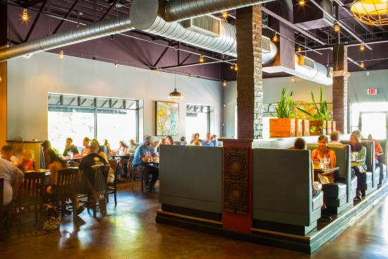 Dining Room  Picture of Ethos Vegan Kitchen Winter Park  TripAdvisor