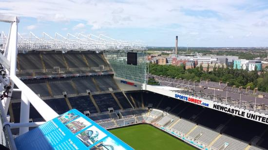Leazes End And East Stand Picture Of St James Park
