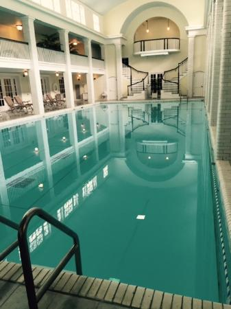 Bedford Springs indoor pool  Bild frn Omni Bedford Springs Resort Bedford  TripAdvisor