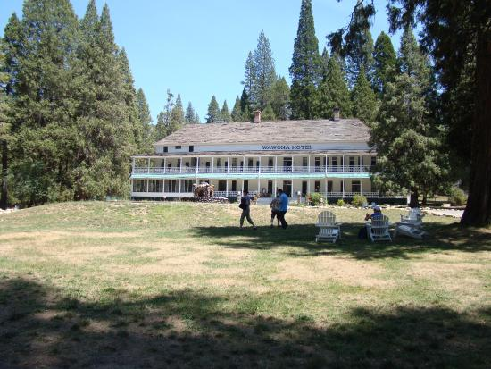 The Swinging Bridge - Picture of Wawona Hotel Dining Room ...