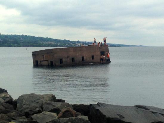 Sunken Building Picture Of Canal Park Duluth TripAdvisor