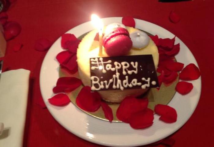 My Birthday Cake Specially Made For Me Cheese Cake Picture Of