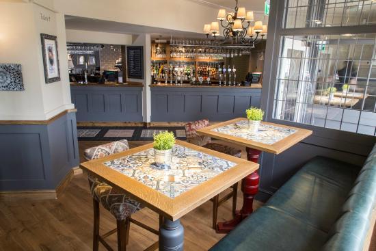 Bar Area Picture Of The Priory Pub Kitchen Loughborough Tripadvisor