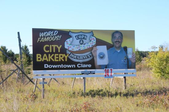 Welcome to the bakery Picture of Cops Doughnuts