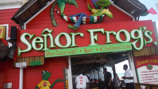 front sign fotografa de Senor Frogs Nassau  TripAdvisor