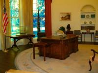 Oval Office replica - Picture of Jimmy Carter Library ...