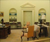 Oval Office Reproduction - Picture of Jimmy Carter Library ...