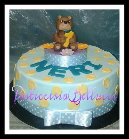 Torta Di Compleanno Per Bambini Torta Orsetto