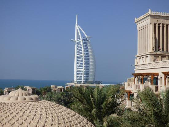Burj Al Arab View From Room Balcony Picture Of Jumeirah Al Qasr Dubai Tripadvisor