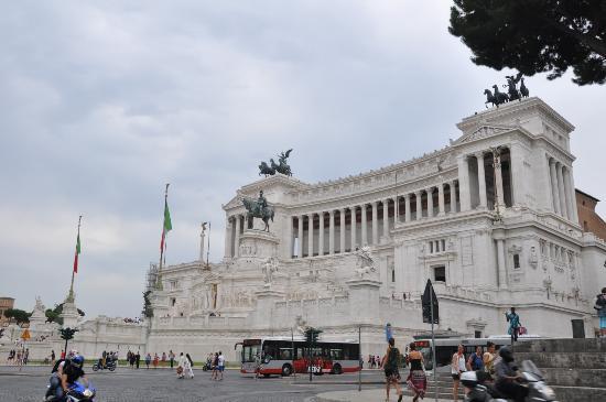Roma dal Cielo Terrazza delle Quadrighe  Foto di Roma dal