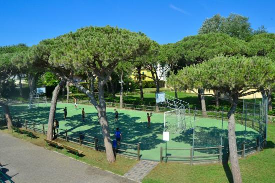una panoramica dal ristorante terrazza  Picture of Villaggio al Mare Marzotto Jesolo  TripAdvisor
