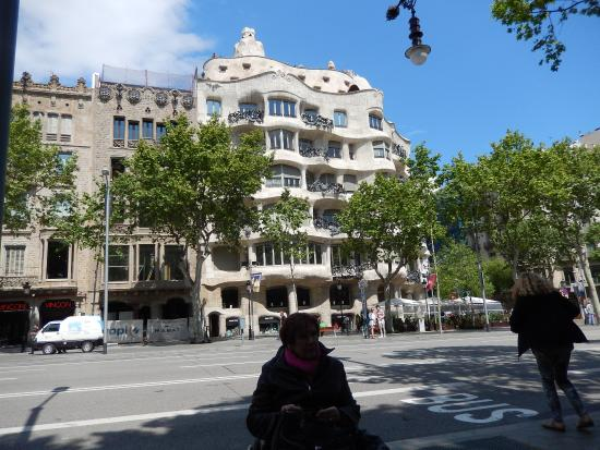 Casa Mil La Pedrera  Bild von Passeig de Grcia