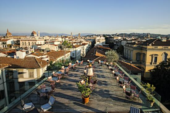 terrazza panoramica  Picture of Kraft Hotel Florence