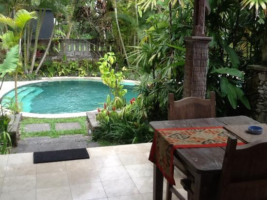 Relaxing By The Pool Picture Of Royal Villa Jepun Ubud
