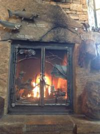 Fireplace - Picture of Bass Pro Shops Outdoor World ...
