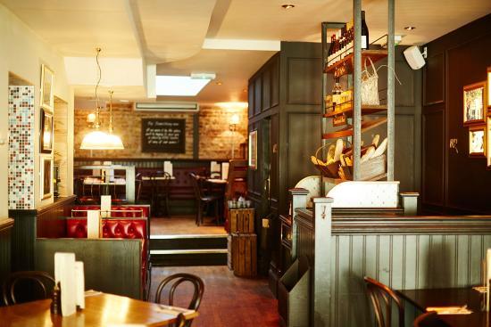 east london sofa cinema dfs reviews cafe rouge wellington street, - covent garden ...