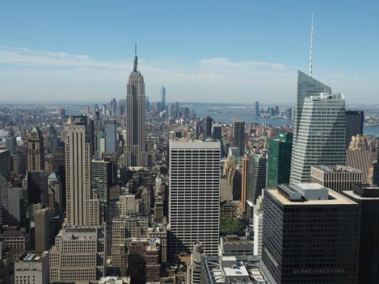 Empire State Building  Freedom Tower view  Foto di
