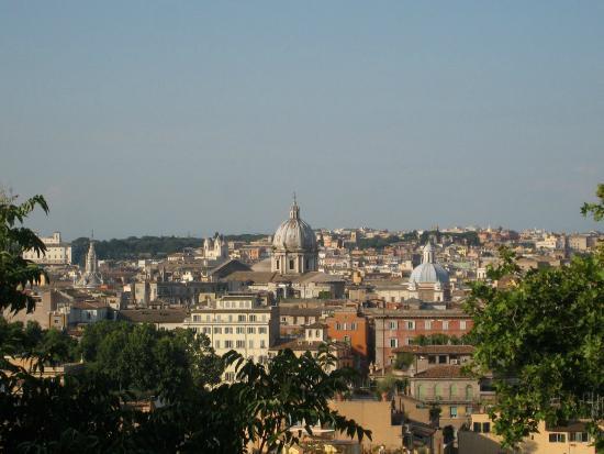 Rome  View from Gianicolo Hill  Foto di Colle del