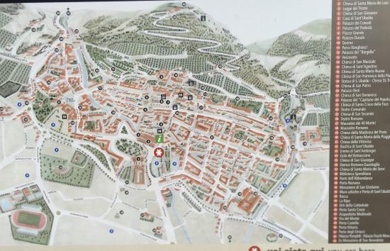 MAPPA DI GUBBIO Picture of Relais Ducale Hotel Gubbio