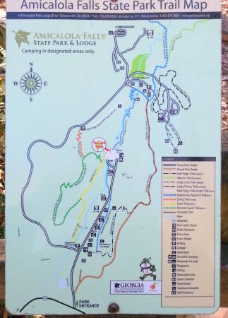 Amicalola Falls Map : amicalola, falls, Atlanta, Amicalola, Falls, Trail, Picture, State, Park,, Dawsonville, Tripadvisor