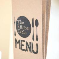 menu - Picture of The Kitchen Table Cafe, Mumbles ...
