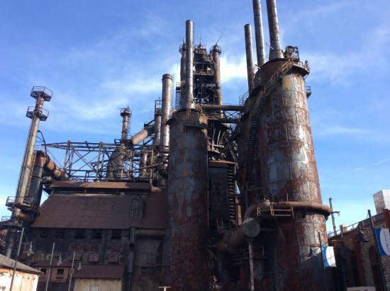 Bethlehem Steel 5 blast furnaces