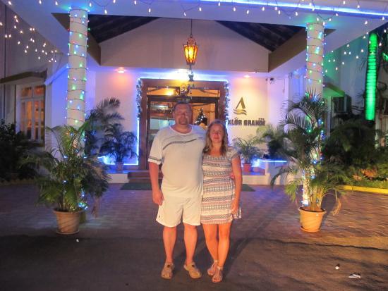 Vhod V Otel Picture Of Alor Grande Holiday Resort