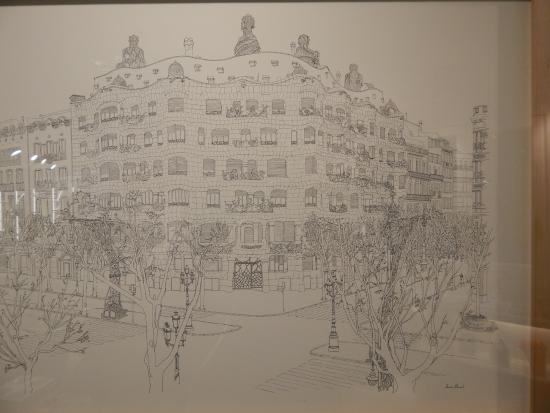 Barcelona Casa Mila Souvenir shop  Picture of La
