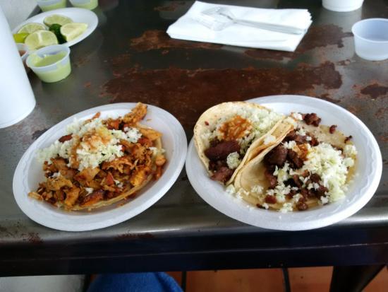 Chicken Gordita left  Picture of Backyard Taco Mesa  TripAdvisor