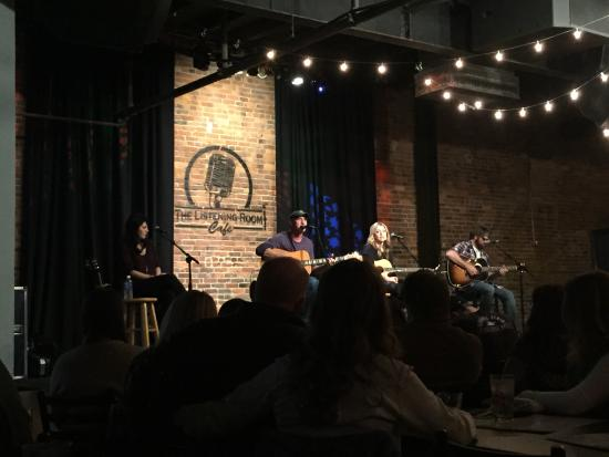 Songwriters circle The Listening Room Cafe Nashville TN