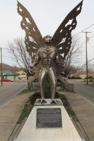 Statue Picture Of Mothman Statue Point Pleasant