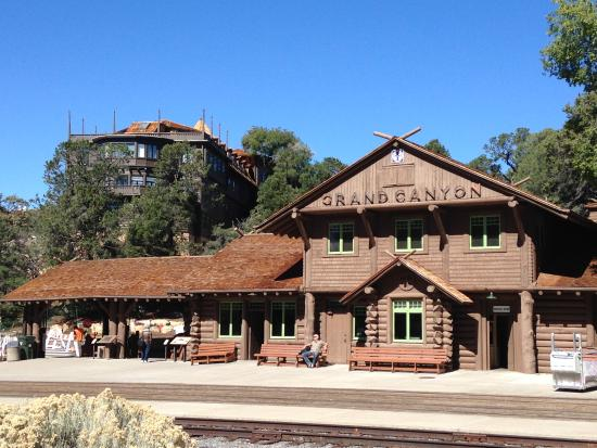 Grand Canyon Village Station - Picture of El Tovar Hotel, Grand ...