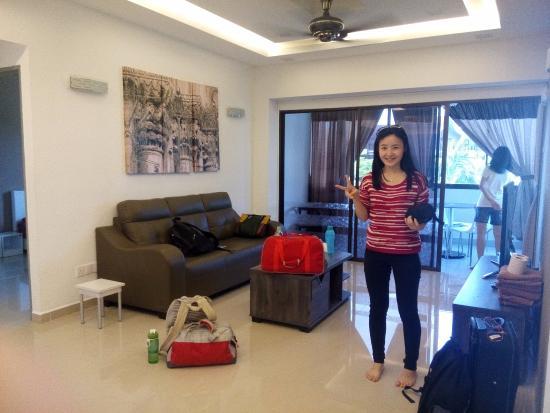 Sri Sayang Resort Service Apartment Living Room