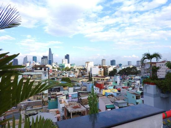 View From Roof Top Bar Picture Of Duc Vuong Hotel Ho Chi