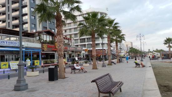 Beach Near Hotel Picture Of Livadhiotis City Hotel