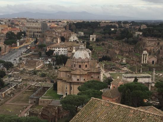 Terrazza delle Quadrighe  Picture of Roma dal Cielo