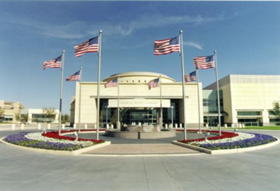 George Bush Library Picture Of College Station Texas