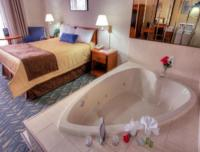 Heart Shaped Jacuzzi Room - Picture of Travelodge Niagara ...